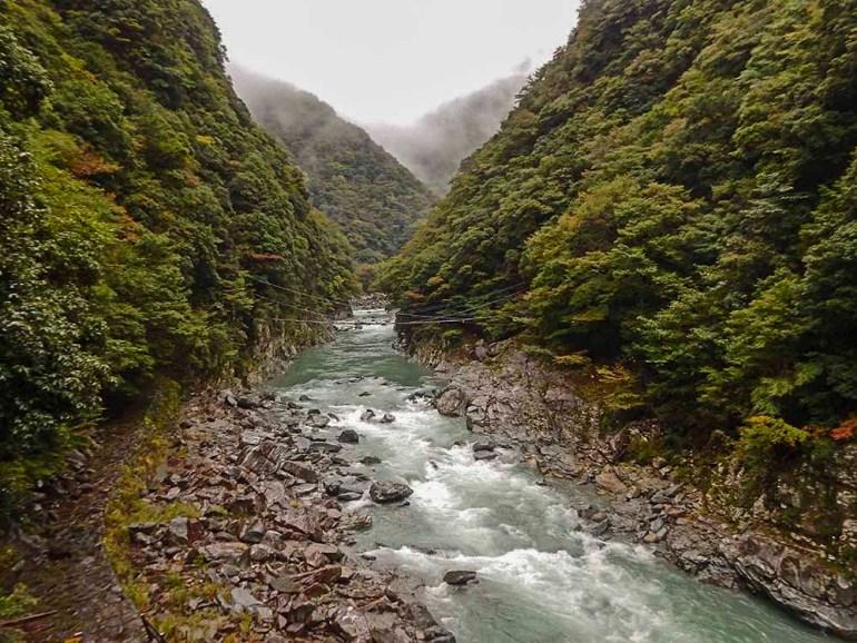 river in Shikoku Japan