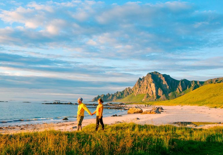 Andoy and Lofoten Norway coastal hike