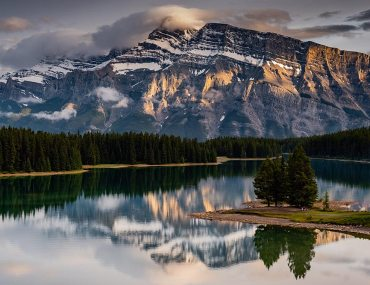 banff national park by kevin floerke