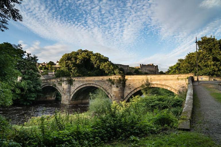 green bridge in England