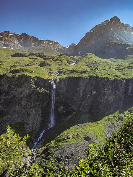 Col du plan sery near Mont Blanc