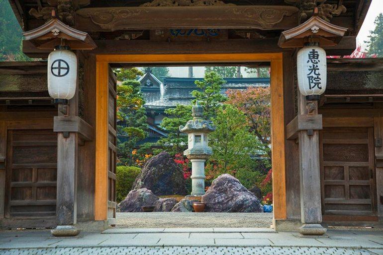 Ekoin temple Japan lodge