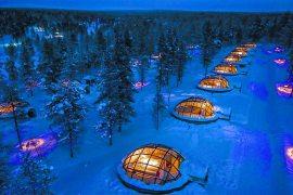 Kakslauttanen Arctic Resort lapland finland lodge