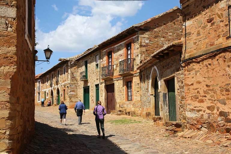 castrillo Camino de Santiago in Spain