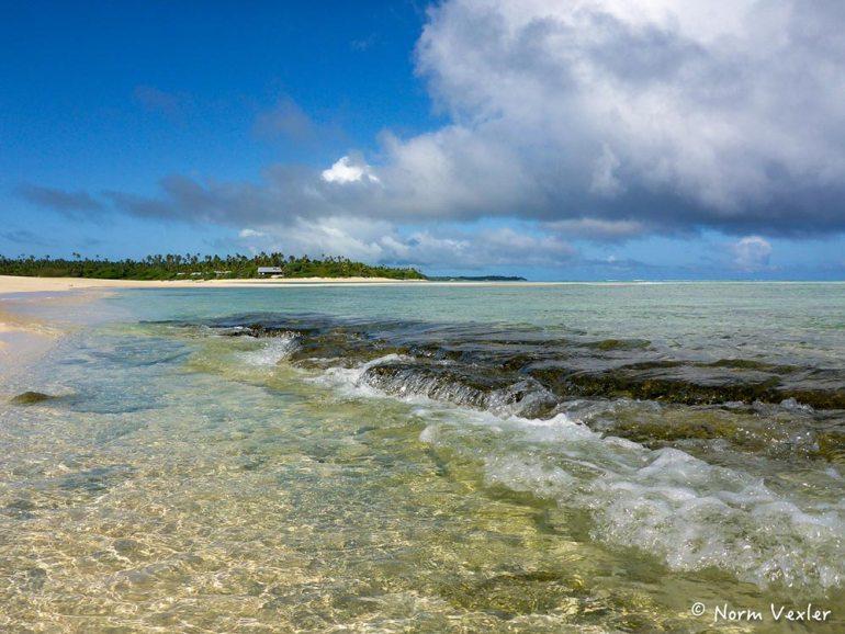 beach in tonga