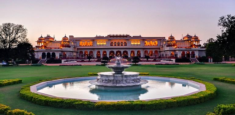 Taj Rambagh Palace in India