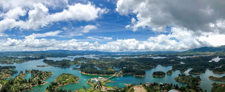 guatape in colombia
