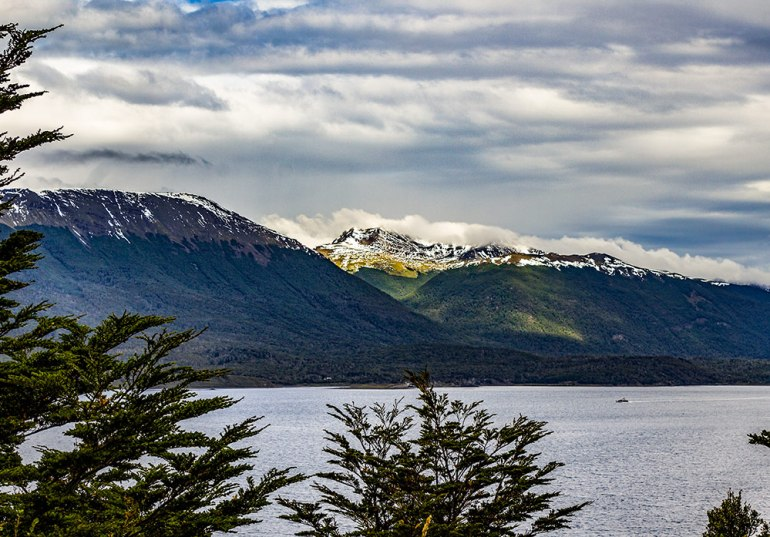 island in tierra del fuego patagonia