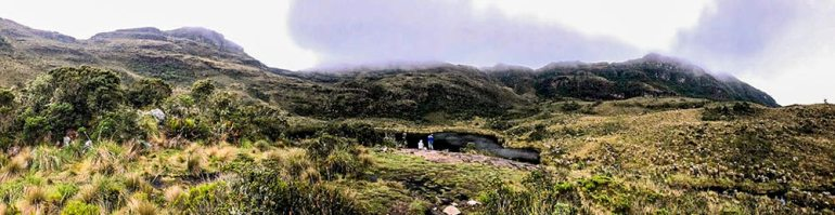 andes hike in colombia