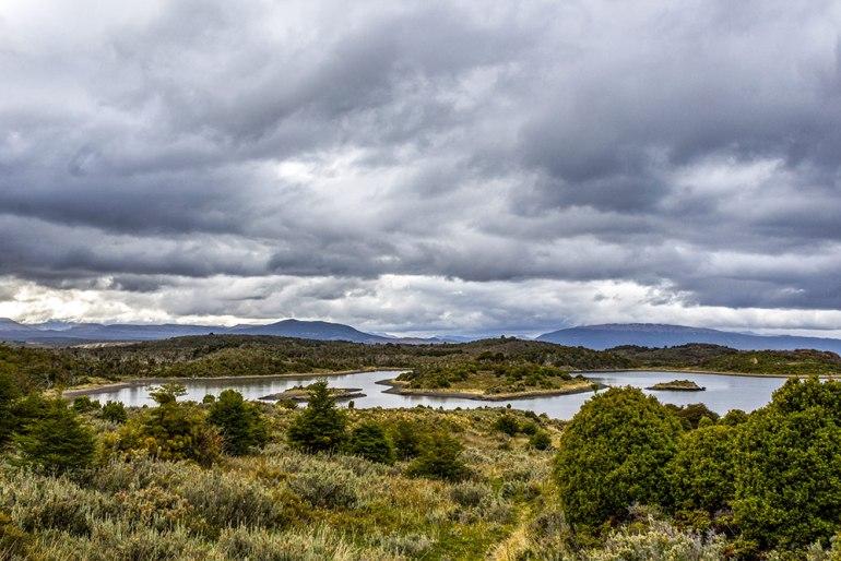channel in tierra del fuego patagonia