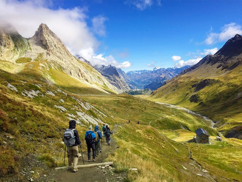 Great hikes of the world-tour du mont blanc