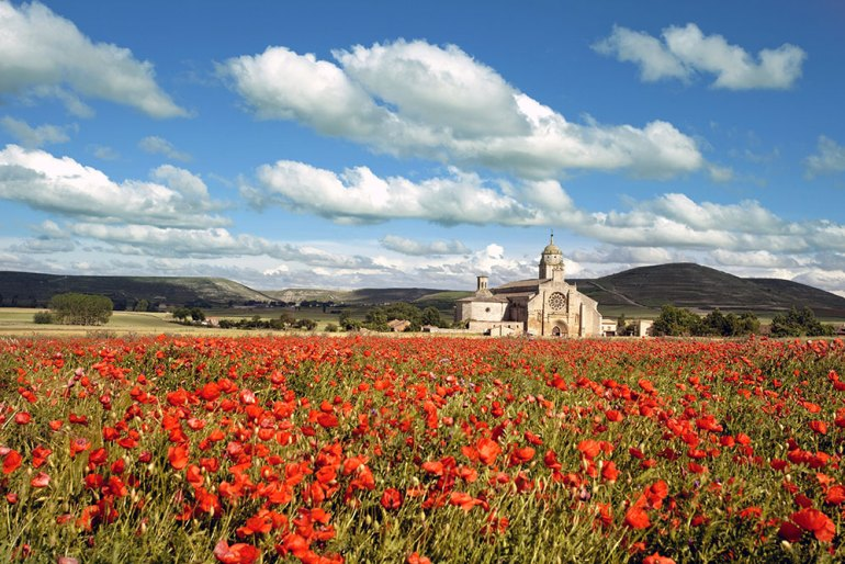 pilgrim's way spain, best place to travel in september