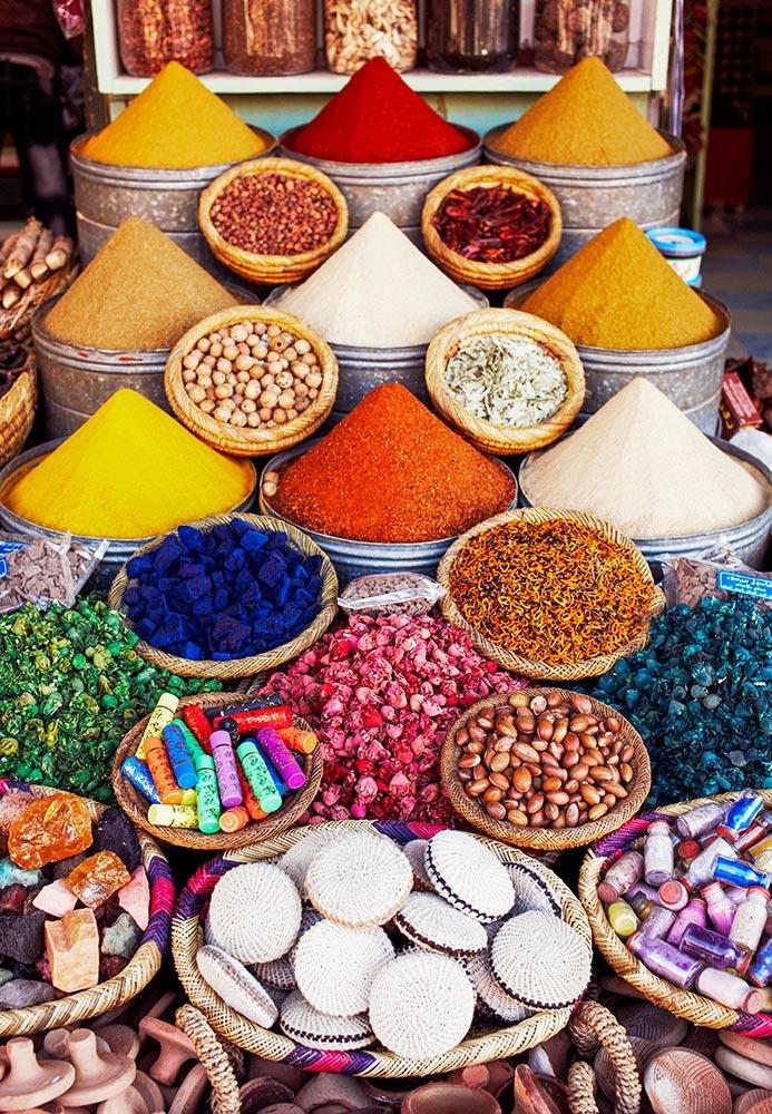 morocco food market