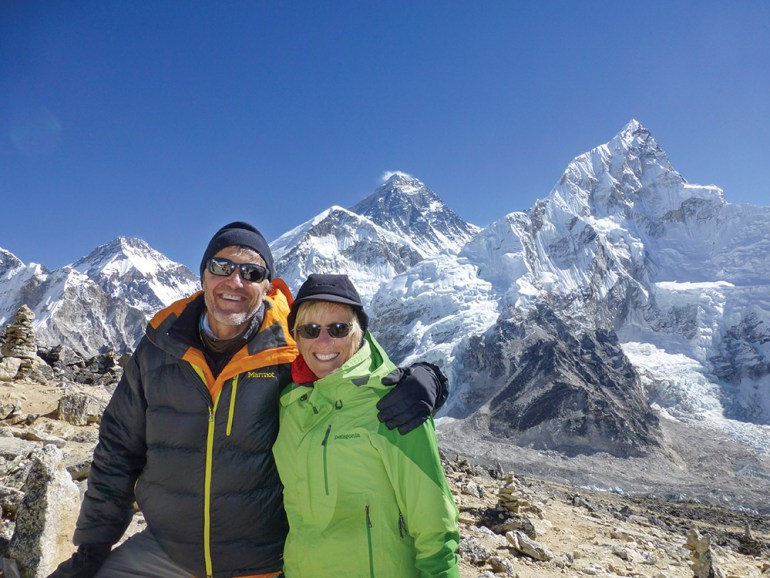 Everest hikers
