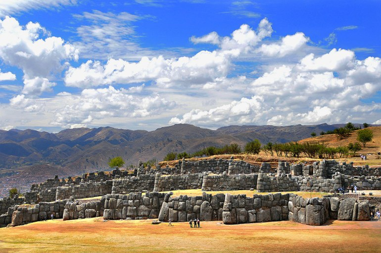 Saqsayhuaman ancient site in Peru