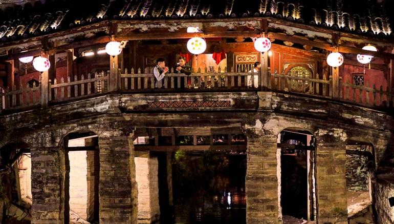 Japanese bridge in indochine