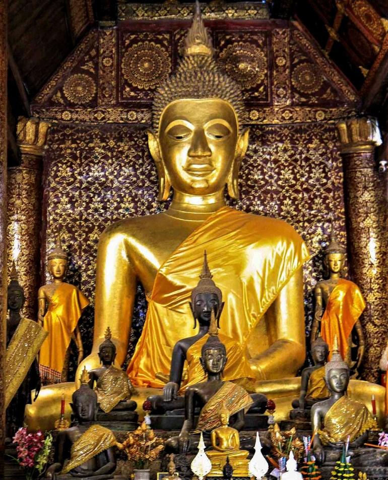 buddha temple in indochine