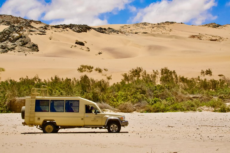 Namibia green season vehicles