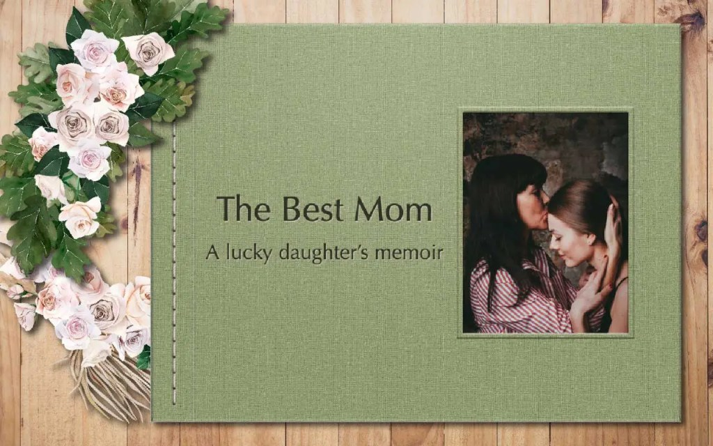 mothers day photo book cover