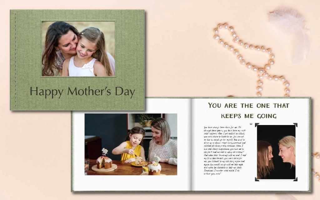Mother's Day photobook gift