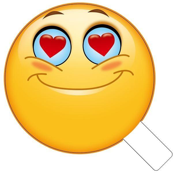 love eyes emoji photo