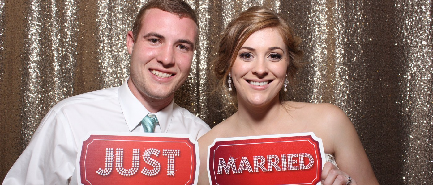 Kiley & Colton's Wedding Photo Booth