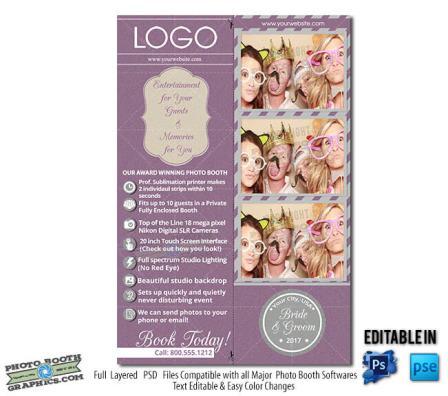 4x6 Print Bridal Show Showcases a 2x6 print