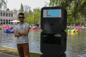 epics photo booth in parcul central