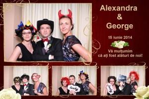 Protejat: 15 Iunie 2014 – Nunta Alexandra si George – Cluj Napoca