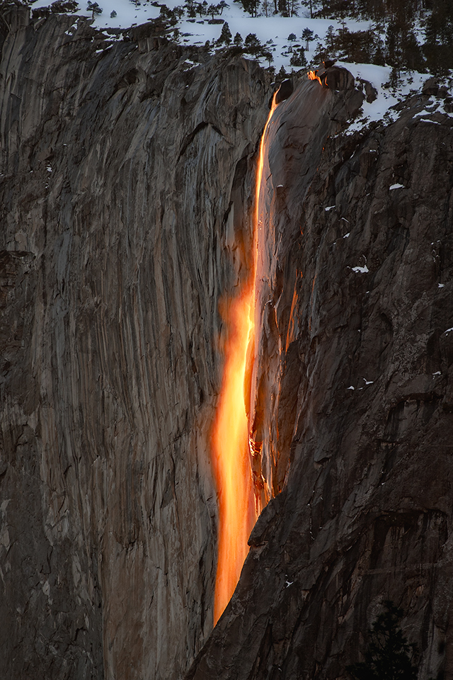 Yosemite Lava Falls Wallpaper Horsetail Fire Falls Yosemite National Park Ca Nader