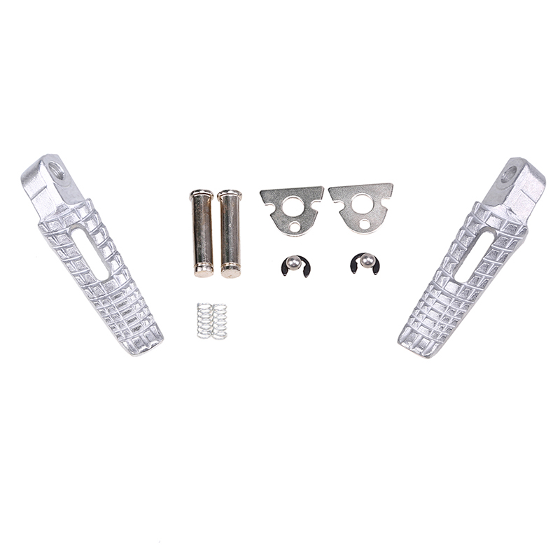 Aluminum Motorcycle Footpegs Foot Rest Peg Rear Set for