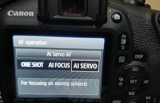 AI Servo AF Canon