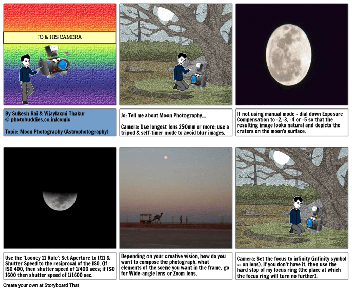 Best Camera Settings for Moon Photography