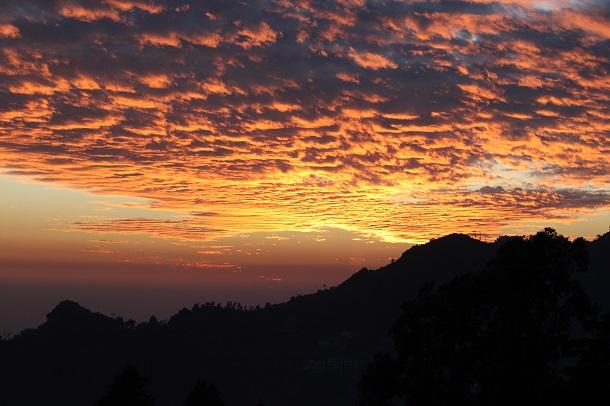 DSLR Camera settings for sunset  photography