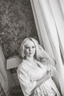 boudoirfotografering morgongåva Rånäs slott