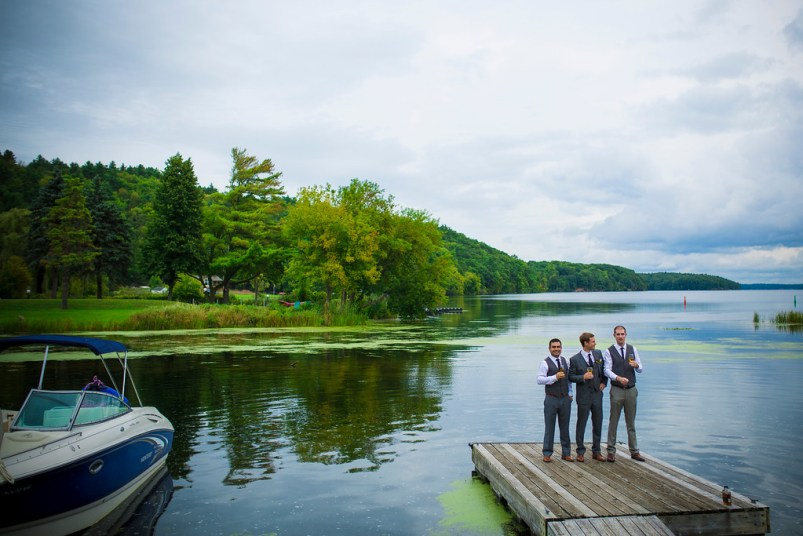 Westport Wedding Photography - Guys having a drink
