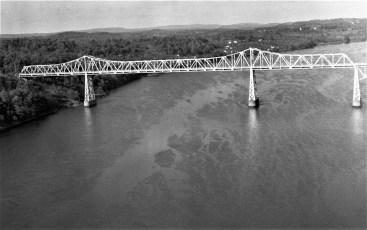 Rip Van Winkle Bridge approach 1956 (1)