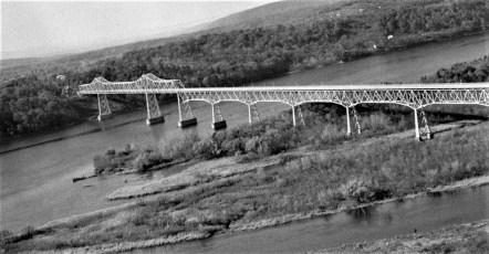 Rip Van Winkle Bridge approach 1956 (2)