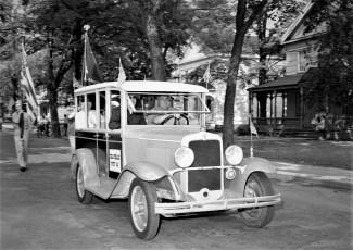 Am. Legion Parade in Chatham Chatham Legionnaires 1956 (1)