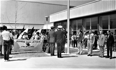 American Legion Presenting Flags to County Schools 1973 (2)