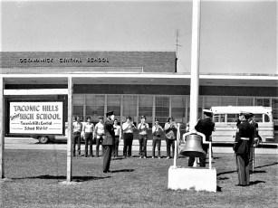American Legion Presenting Flags to County Schools 1973 (4)
