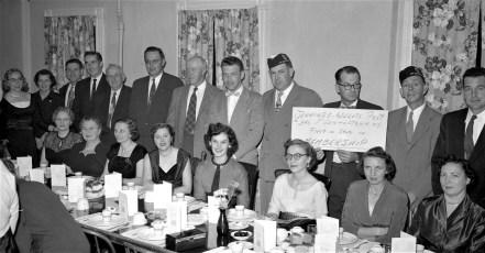 Philmont Legion hosts County Dinner Meeting 1956 (3)