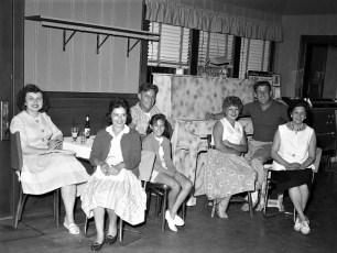 Blue Gables Mr. & Mrs. Bus Couchman & friends Linlithgo 1962