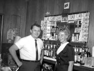 Kozels' Elsie & Bob collect dollars for Cancer Crusade 1966
