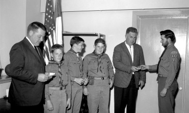 Boy Scout Troop 122 Father & Son Banquet G'town 1965
