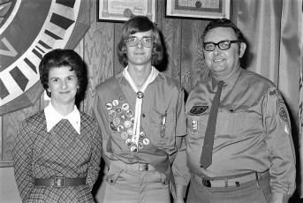 Scout Troop 102 Eagle Scout Awards Hudson 1973 (3)