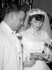 1955 Ms. Mae Pulich & Mr. Ham (1)