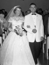 1957 Arlene Feller & Albert Archambault (1)