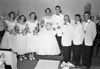 1957 Arlene Feller & Albert Archambault (2)