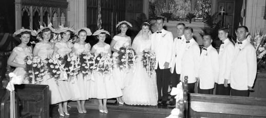 1958 Donna Wingles & William Pateman (2)